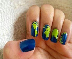 30 Earth Day Nails Art Ideas 15 1