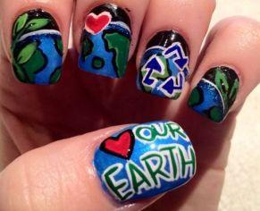 30 Earth Day Nails Art Ideas 20