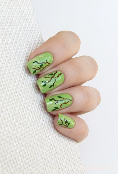 30 Earth Day Nails Art Ideas 22 2