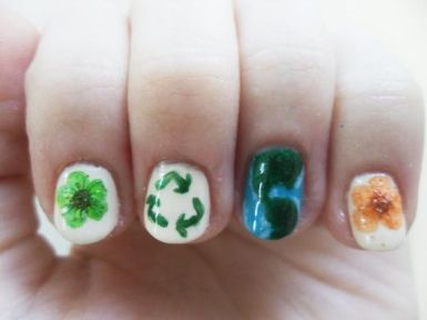 30 Earth Day Nails Art Ideas 25 2