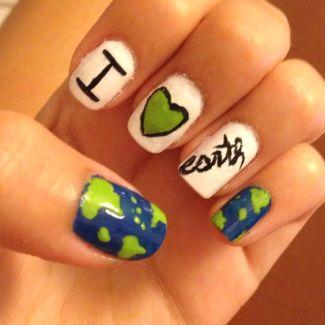 30 Earth Day Nails Art Ideas 28 2
