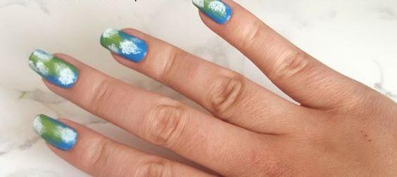 30 Earth Day Nails Art Ideas 3