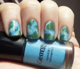 30 Earth Day Nails Art Ideas 32
