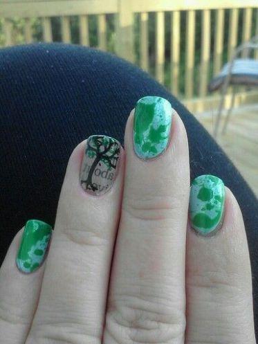 30 Earth Day Nails Art Ideas 33 2