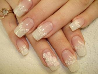30 Glam Wedding Nail Art for Bride Ideas 20