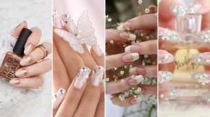 30 Glam Wedding Nail Art for Bride Ideas