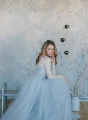 30 Soft Color Look Bridal Dresses Ideas 1