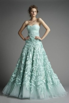 30 Soft Color Look Bridal Dresses Ideas 28