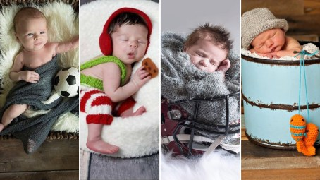 40 Adorable Newborn Baby Boy Photos Ideas