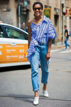 40 All Blue Outfits Street Styles Ideas 1