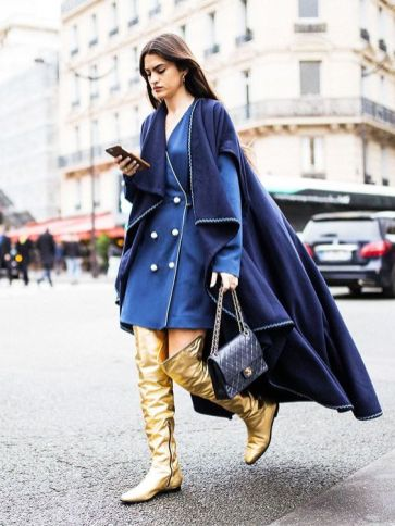 40 All Blue Outfits Street Styles Ideas 19
