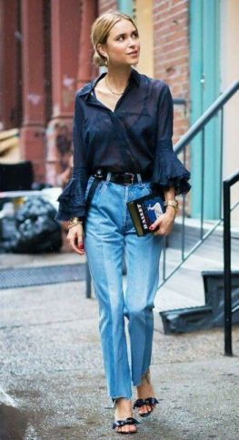 40 All Blue Outfits Street Styles Ideas 20