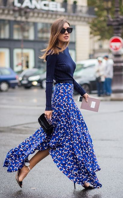 40 All Blue Outfits Street Styles Ideas 25