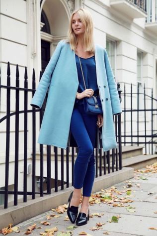 40 All Blue Outfits Street Styles Ideas 7