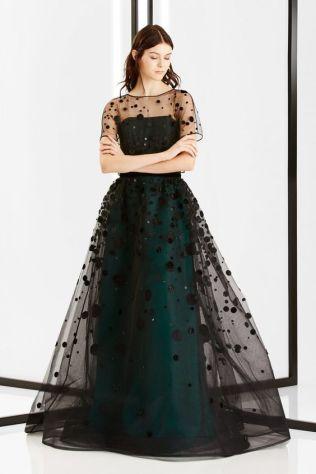 40 Black Mesh Long Dresses Ideas 17