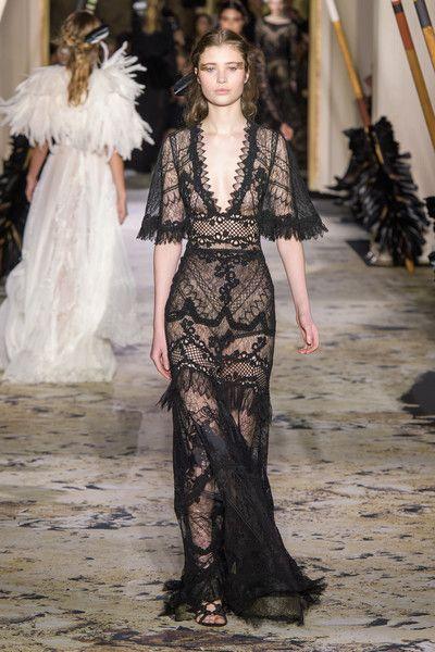 40 Black Mesh Long Dresses Ideas 2