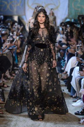 40 Black Mesh Long Dresses Ideas 21