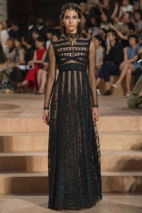 40 Black Mesh Long Dresses Ideas 29