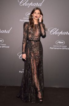 40 Black Mesh Long Dresses Ideas 3