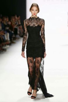 40 Black Mesh Long Dresses Ideas 34