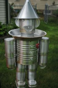 40 DIY Recycling Cans Ideas 15