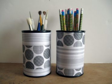 40 DIY Recycling Cans Ideas 31