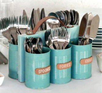 40 DIY Recycling Cans Ideas 36