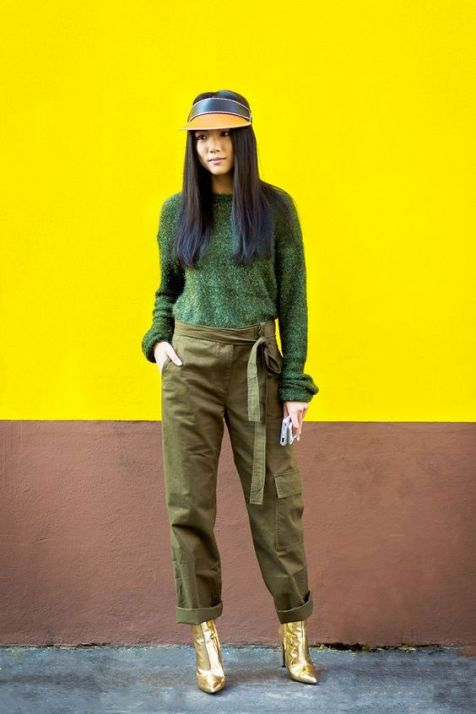 40 Fashionable Green Outfits Ideas 25