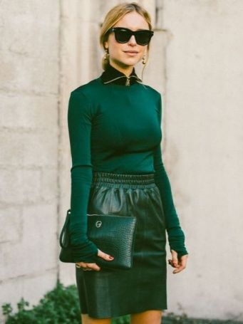 40 Fashionable Green Outfits Ideas 6