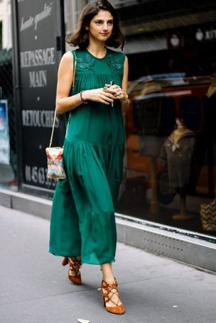 40 Fashionable Green Outfits Ideas 7