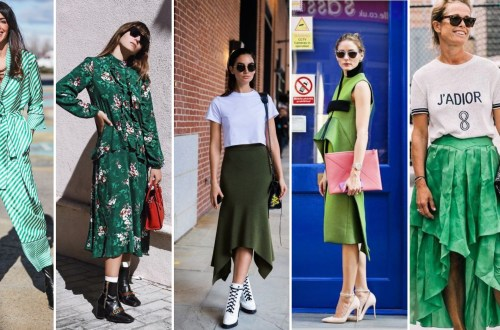 40 Fashionable Green Outfits Ideas