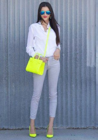 40 How to Wear Neon Shoes Ideas 12