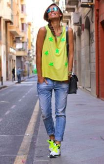 40 How to Wear Neon Shoes Ideas 2