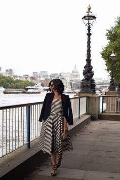 40 How to Wear Tea Lengh Dresses Street Style Ideas 14