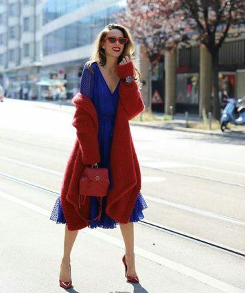 40 How to Wear Tea Lengh Dresses Street Style Ideas 21