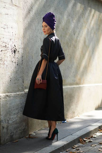 40 How to Wear Tea Lengh Dresses Street Style Ideas 31