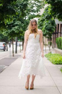 40 How to Wear Tea Lengh Dresses Street Style Ideas 39