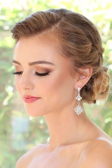 40 Natural Wedding Makeup Ideas 14