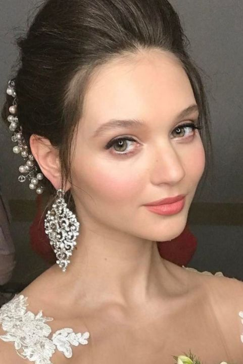 40 Natural Wedding Makeup Ideas 2