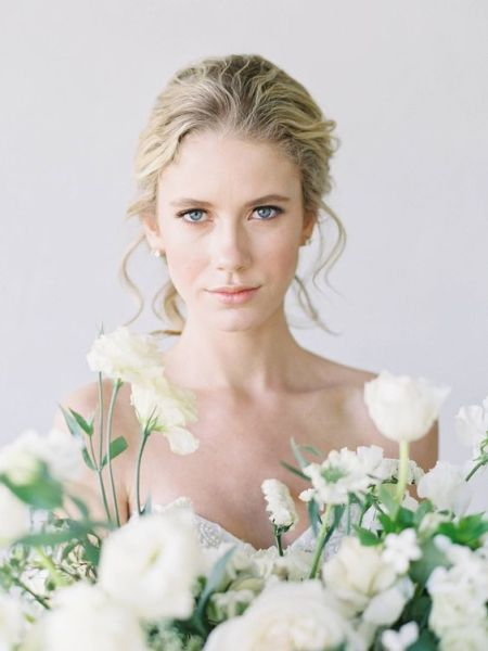 40 Natural Wedding Makeup Ideas 21