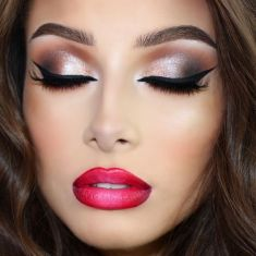 40 Night Party Makeup Look You Should Try 21