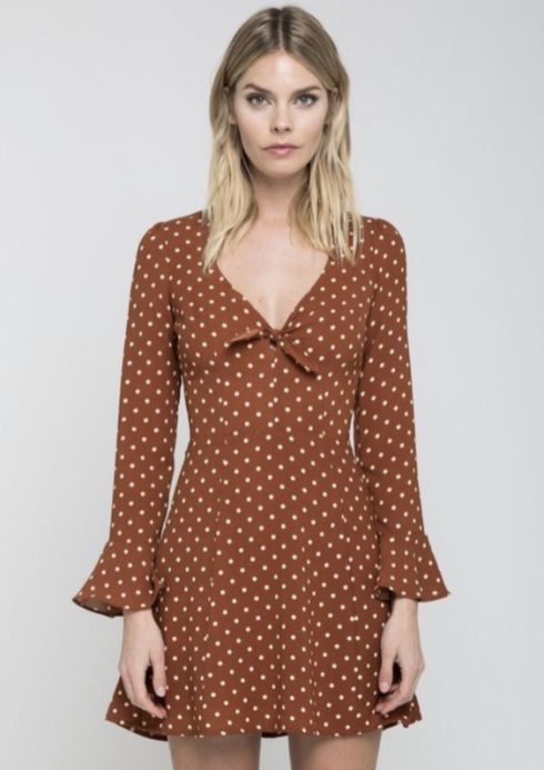 40 Polka Dot Dresses In Fashion Ideas 12