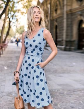 40 Polka Dot Dresses In Fashion Ideas 14