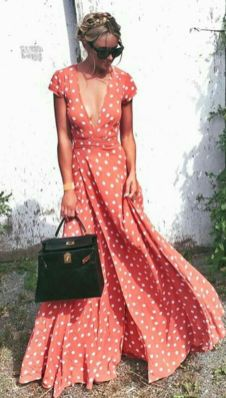 40 Polka Dot Dresses In Fashion Ideas 2