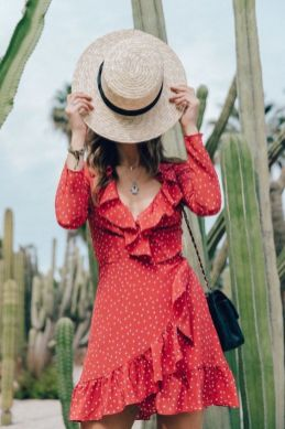 40 Polka Dot Dresses In Fashion Ideas 23