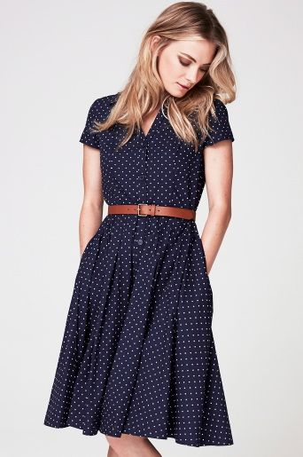 40 Polka Dot Dresses In Fashion Ideas 26