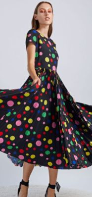 40 Polka Dot Dresses In Fashion Ideas 3