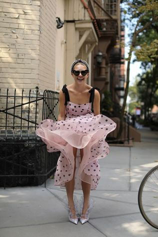 40 Polka Dot Dresses In Fashion Ideas 33