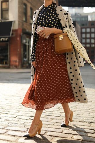 40 Polka Dot Dresses In Fashion Ideas 44