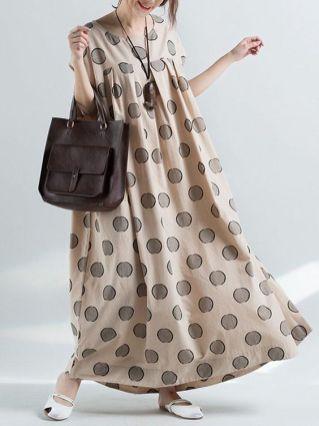 40 Polka Dot Dresses In Fashion Ideas 7